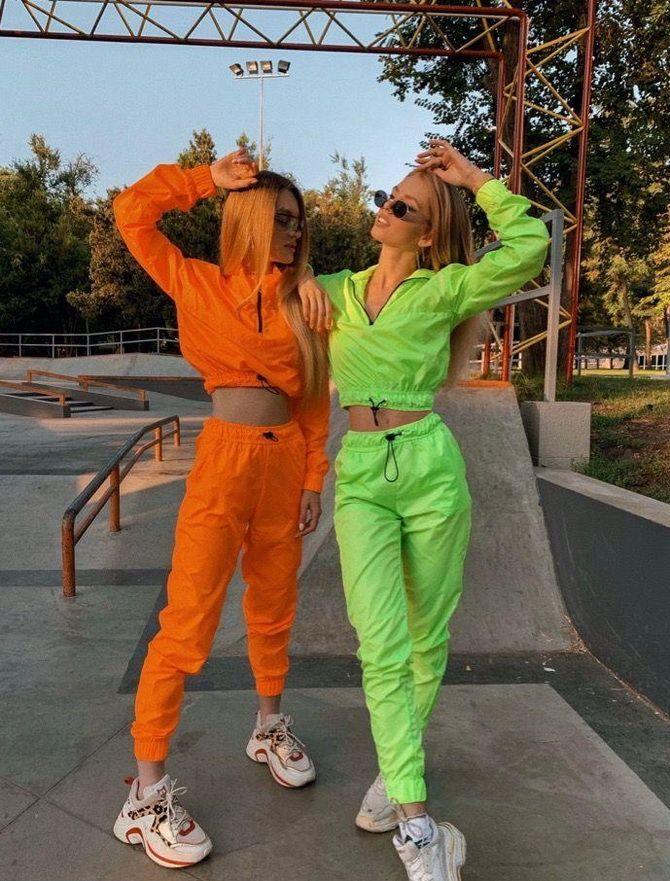 Женские спортивные костюмы oversize 2020