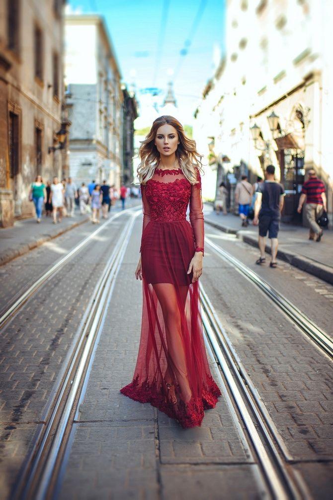 Короткие модели платьев