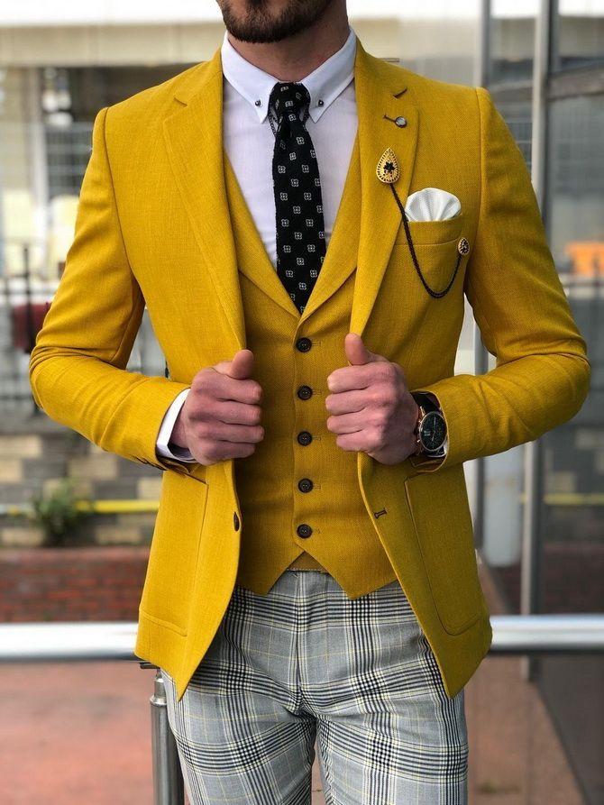 Костюм на выпускной 2021: элегантные образы для парня 19