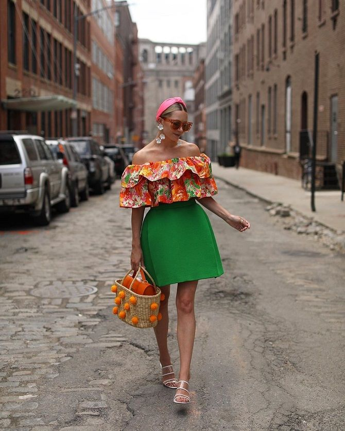 блуза цветочные принты
