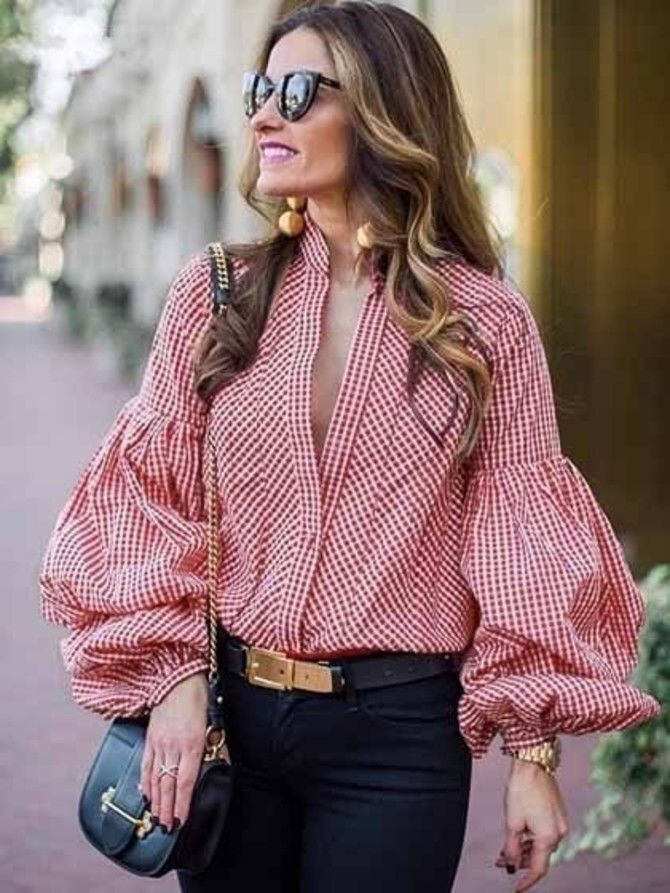 модные фасоны блузок сезона 2020