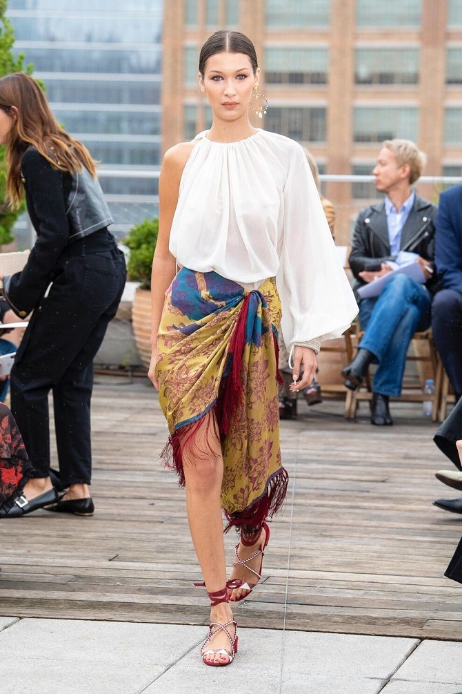 модная блуза 2020