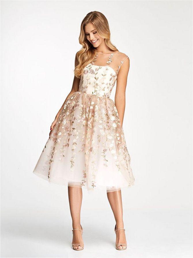 милое платье для выпускницы