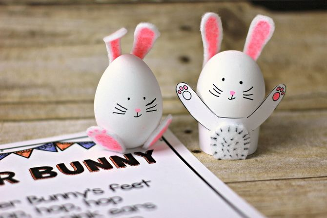 кролик яйцо
