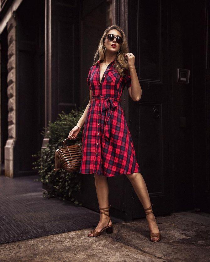 джинсовое платье рубашка +для полных