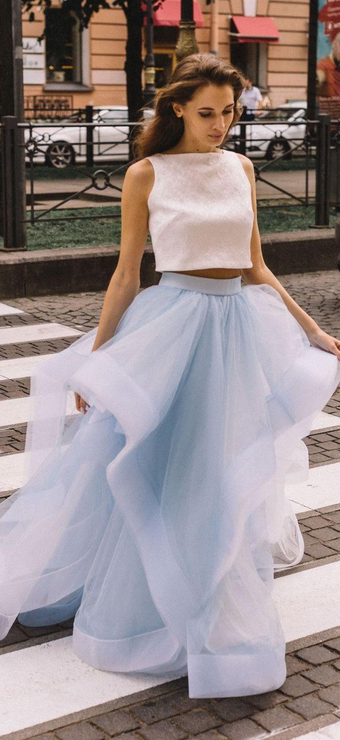 платье кроп-топ 2020