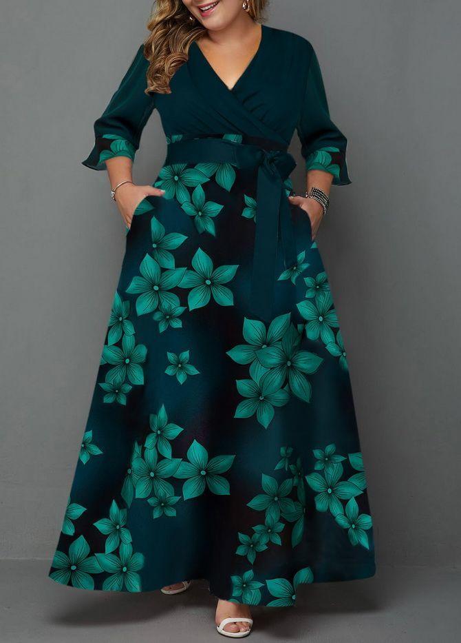 красивое платье для полных