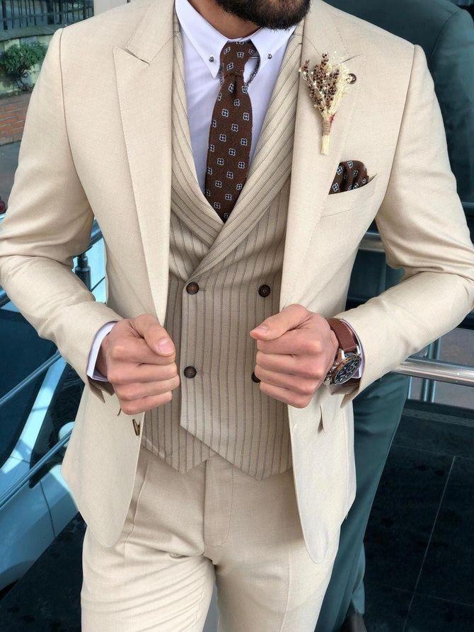 Костюм на выпускной 2021: элегантные образы для парня 27