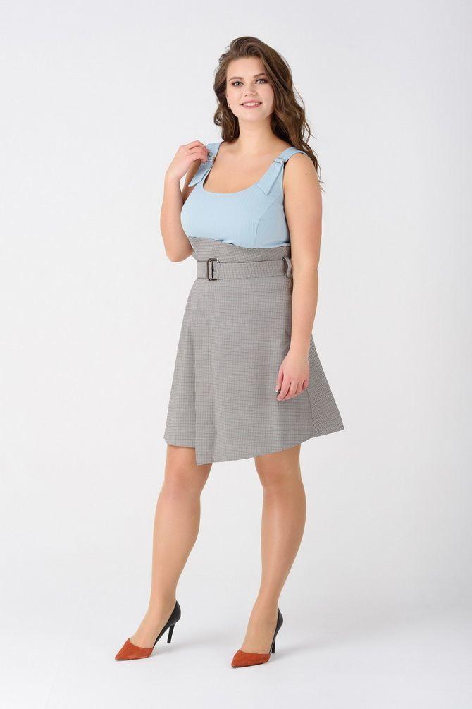 модная юбка для полных 2020 года