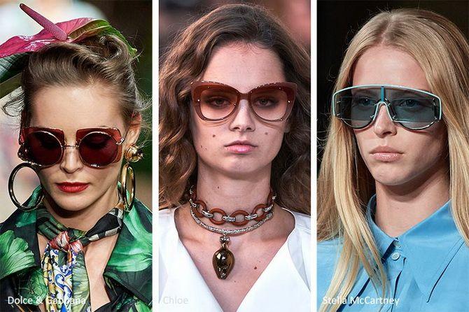 солнечные очки овальные женские