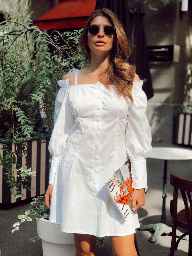 Летние модели платьев-рубашек