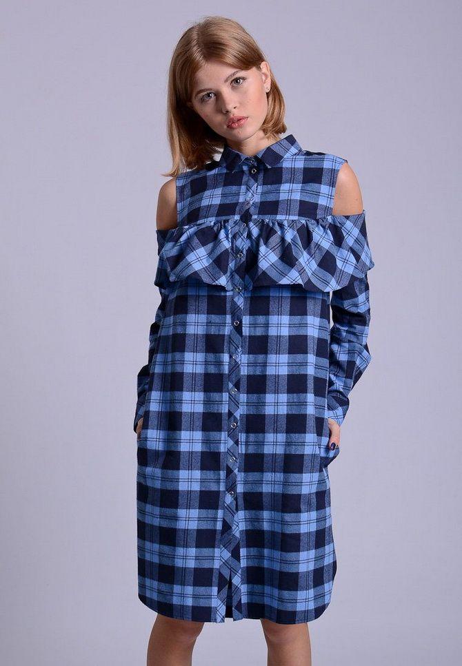 Летние модели платьев-рубашек 2020