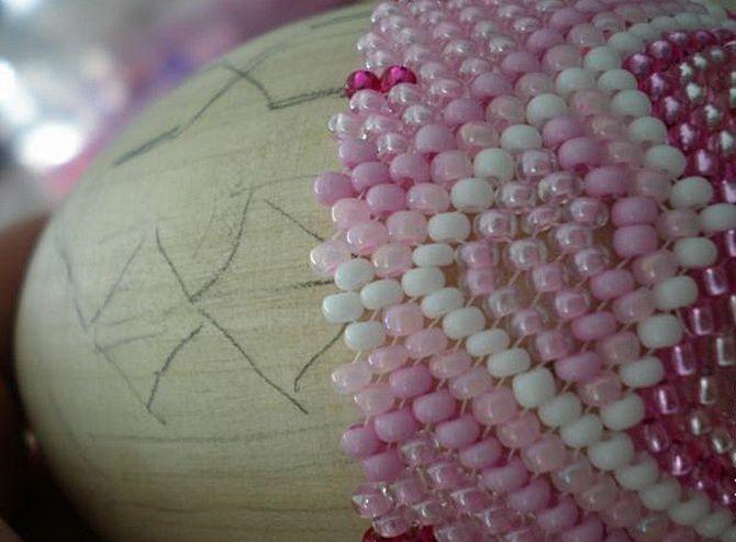 асхальные яйца своими руками из бисера