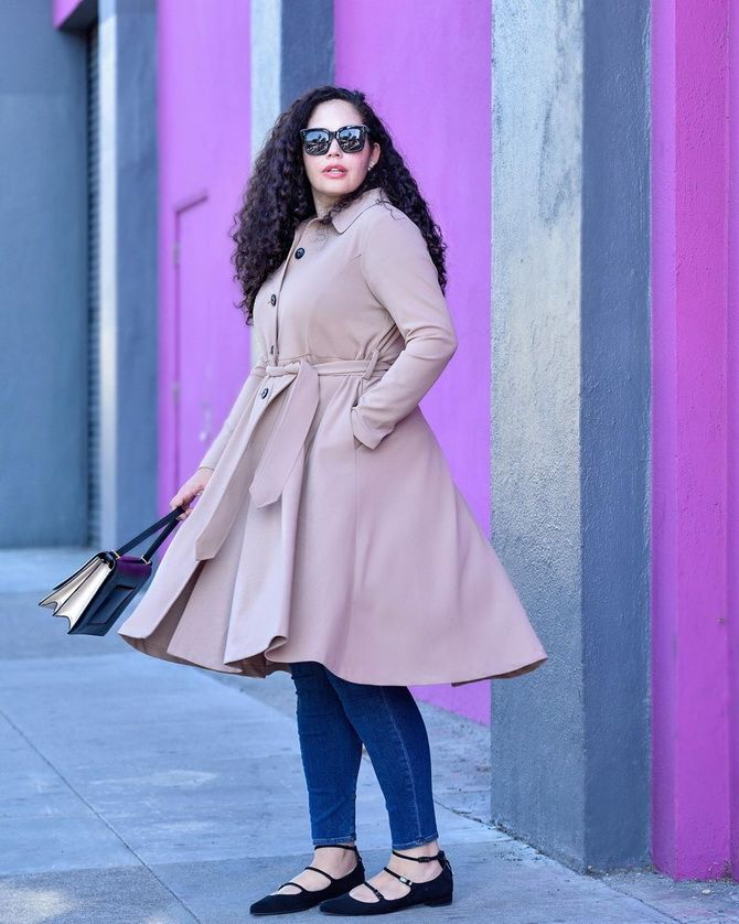 скрыть живот с помощью одежды женщине