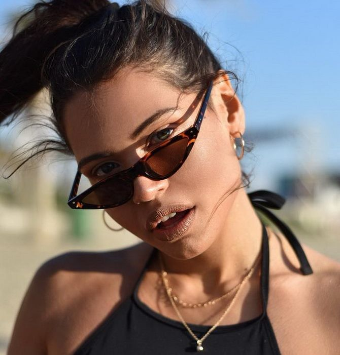 женские очки Tiny sunglasses