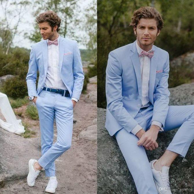 Костюм на выпускной 2021: элегантные образы для парня 39