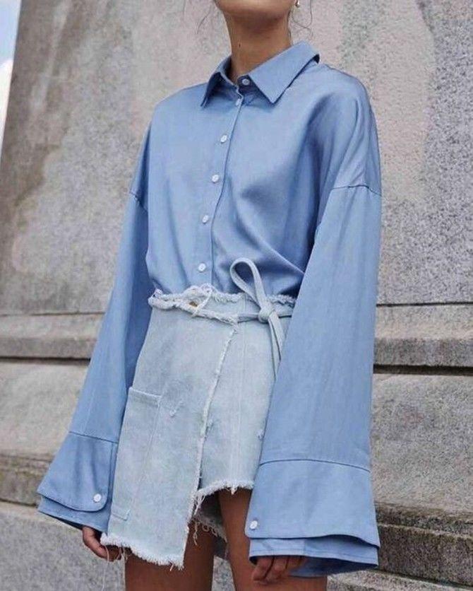 модные фасоны блузок 2020