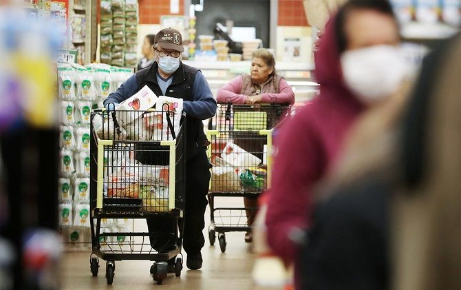 коронавирус магазины