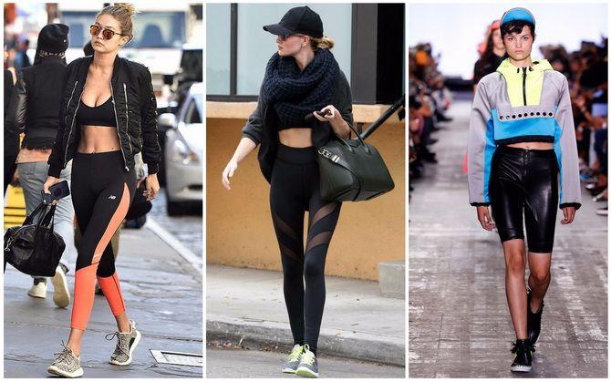 спортивные костюмы женские модные