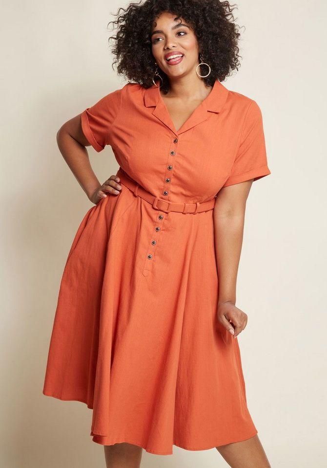 платье рубашка с рукавами
