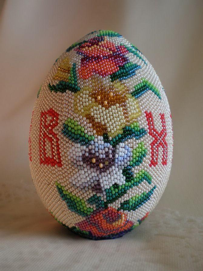 яйцо из бисера