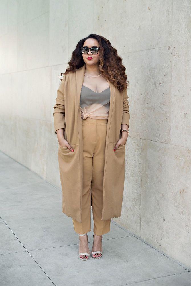 мода для полных женщин 2020 год