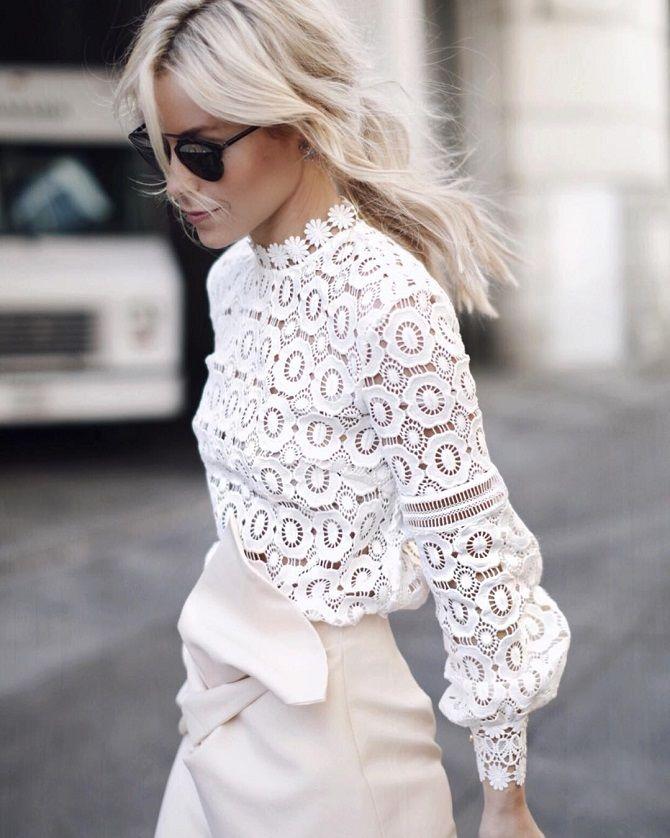 мереживні блузи