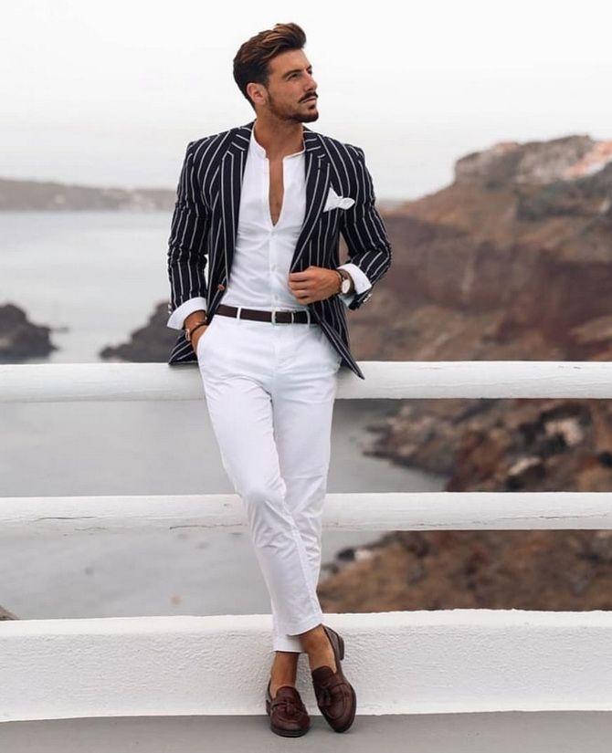 Костюм на выпускной 2021: элегантные образы для парня 6