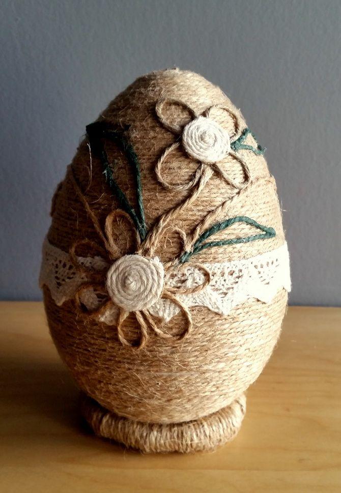 яйцо из шпагата