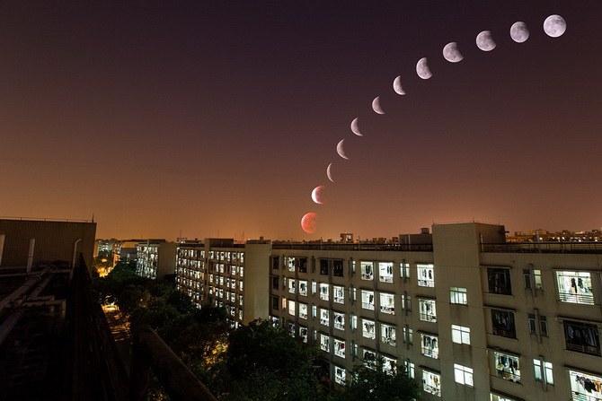 Лунное затмение 30 ноября