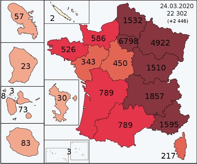 Прогноз распространения коронавируса на апрель 3