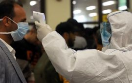 Прогноз распространения коронавируса на апрель