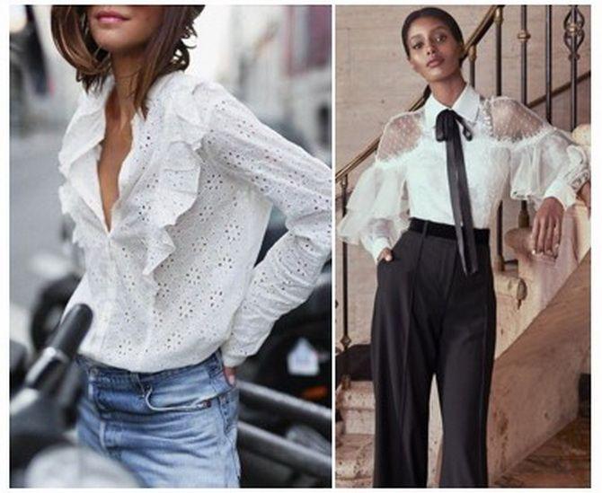 модные блузки 2020 года