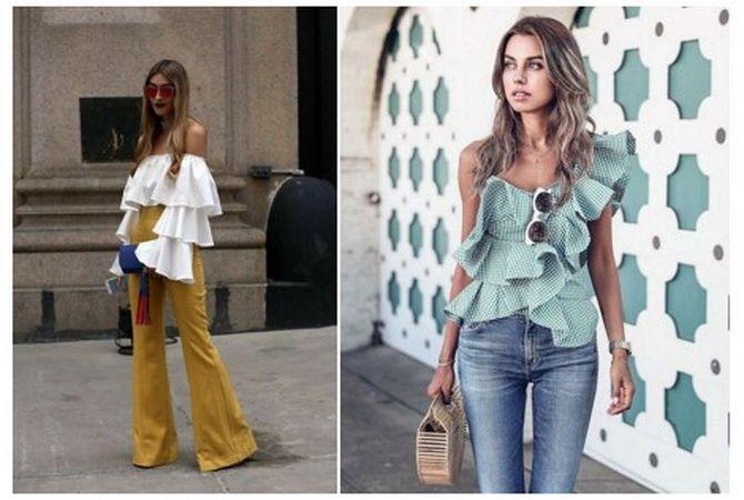 модные блузки 2020 женские фото