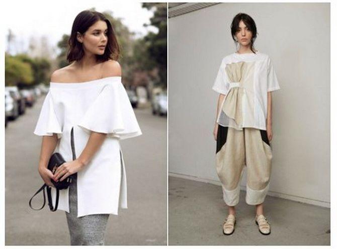 модные тенденции блузок 2020