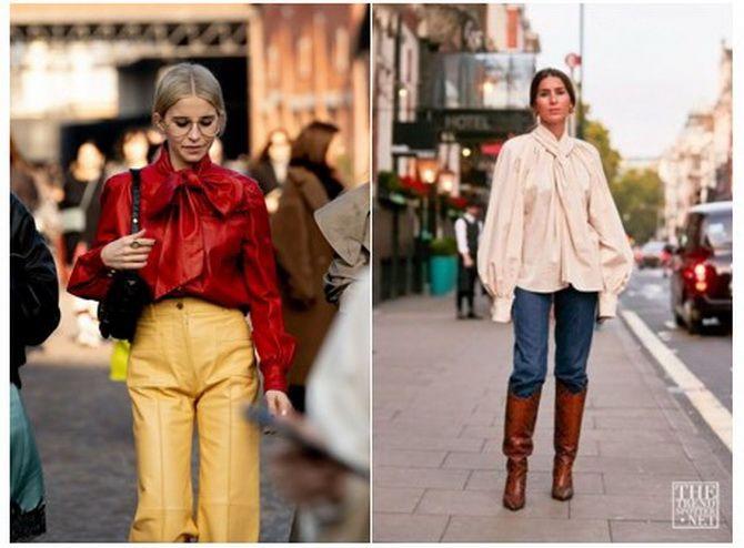 модные блузки весна 2020