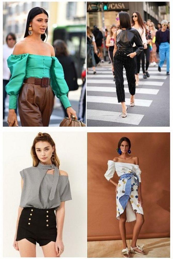 модные блузы