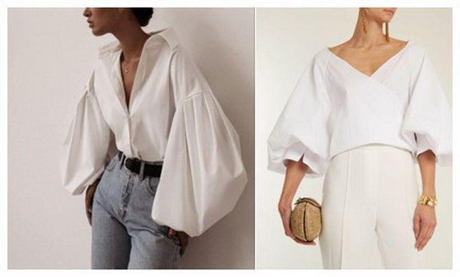 модные блузки лето 2020