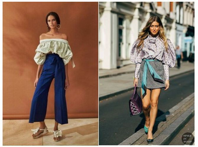 модные блузки весна лето 2020