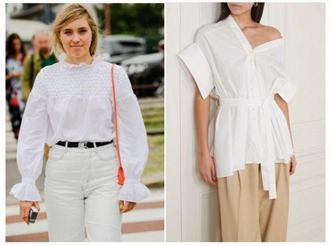 модные блузки 2020 для полных