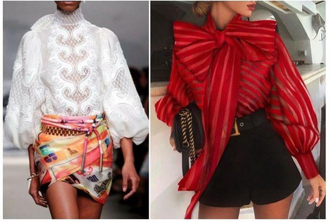 модные блузки 2019 2020 женские