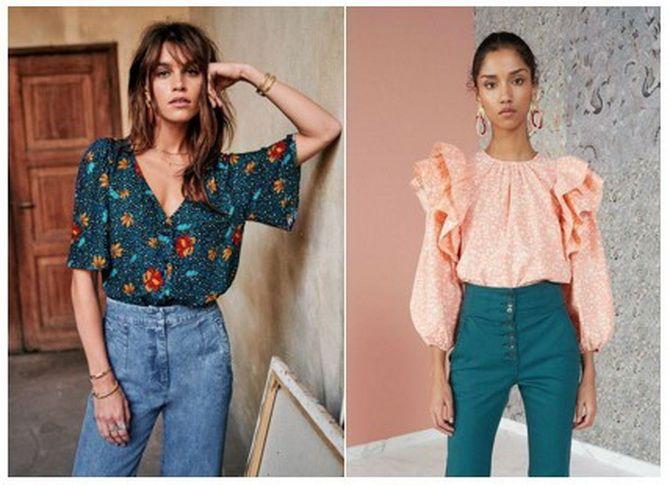 блузки 2020 года модные тенденции фото весна
