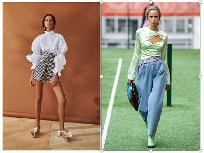 модные блузки 2020 для полных женщин