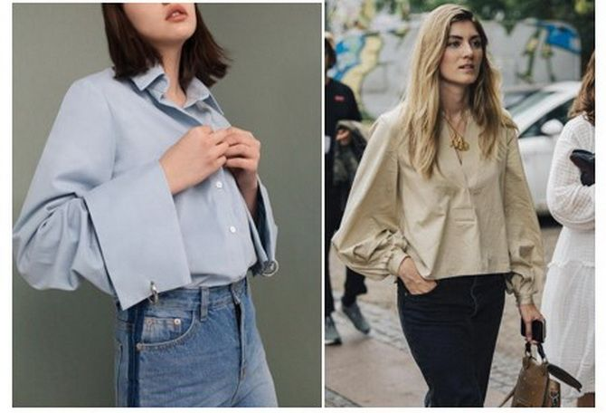 модные блузки 2019 2020 новинки тренды