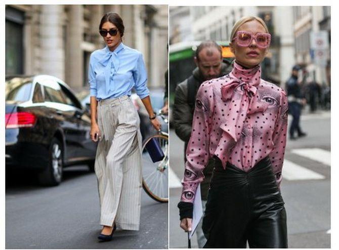 банты на блузках