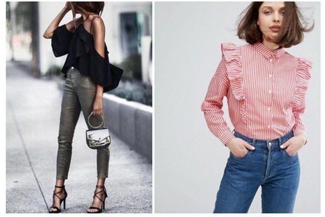 модные блузки 2019 2020 женские фото