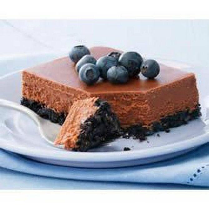 Шоколадный торт Чизкейк