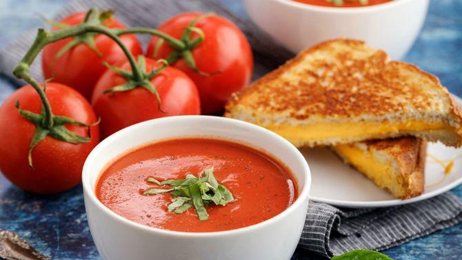 томатный крем-суп