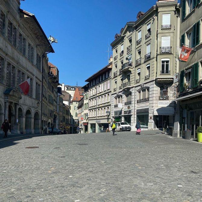 коронавирус Швейцария