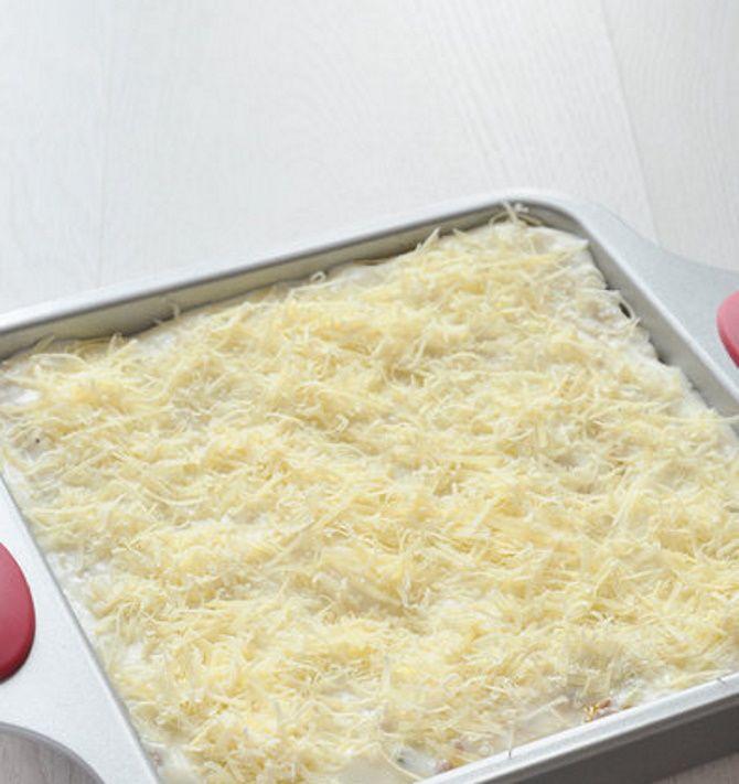 готовая лазанья